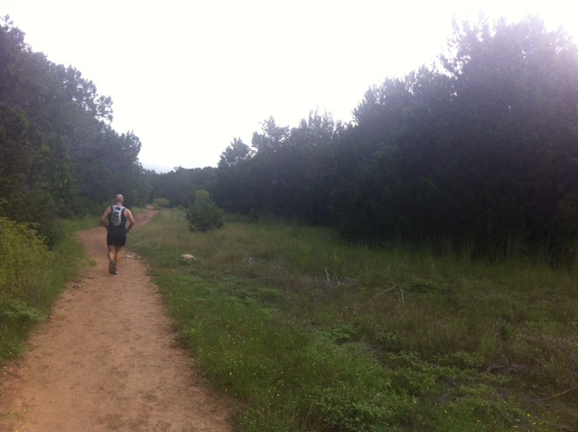 Trail Running in Austin, where I live!