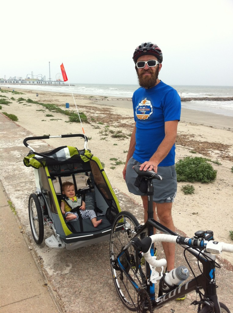 Galveston Sea Wall Biking