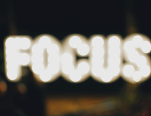 Focus on the next ONE thing